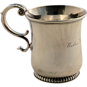 Antique Tiffany Sterling Silver Child's Youth Cup, circa 1902-07