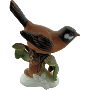 Rosenthal Germany Bird Figurine Hugo Meisel Number 649 Porcelain Brown Bird