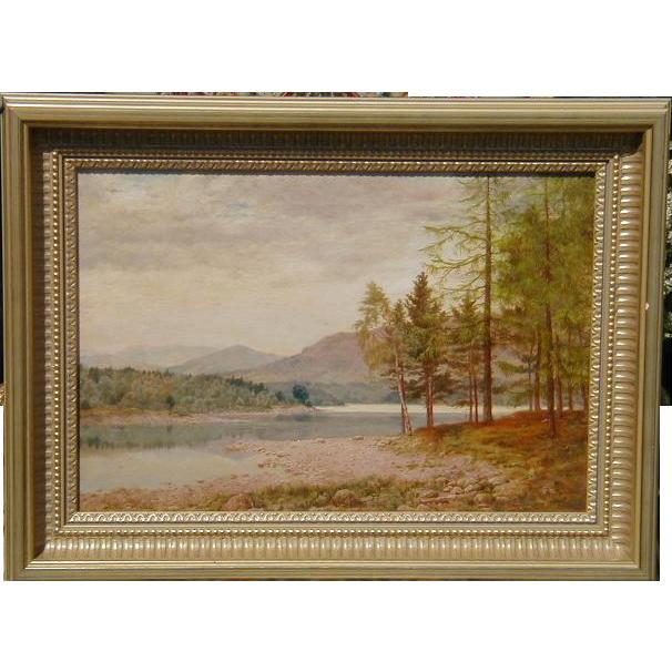 Original Daniel Sherrin Landscape Oil Painting