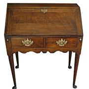 Antique George III English Secretary Desk