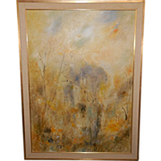 Original Abstract Landscape Oil Painting by Dietrich