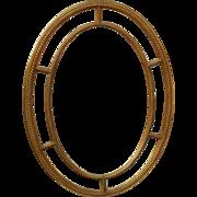Superb Designer Hollywood Regency Mirror by Carvers Guild