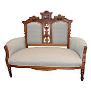 3011 Nice 19th C. Eastlake Antique Sofa