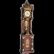 """SALE 7564 Original Ansonia Clock Company """"Antique Standing"""" Floor Clock"""