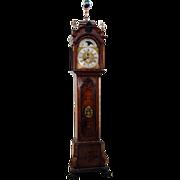 SALE 7645 19th C. Dutch Long Case Grandfather Clock
