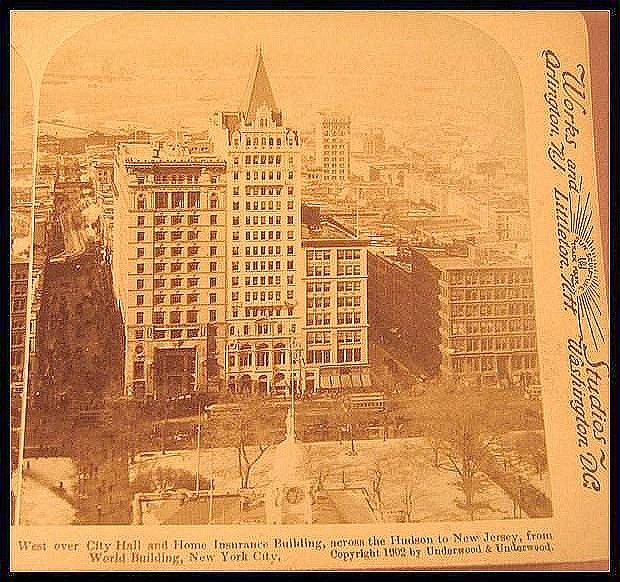 New York City - Underwood & Underwood Stereo View