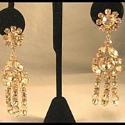 Bright, Bold and Beautiful Rhinestone Earrings