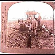 Keystone Stereo View - Farming in Wisconsin