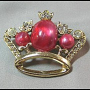 Fit for a Princess Crown with Pink Stones