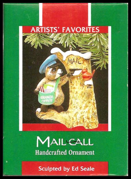 Mail Call Hallmark Ornament