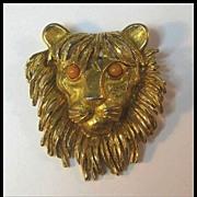 Fancy Florenze Lion's Head Pin