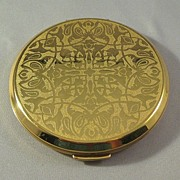 Lovely Gold-tone Compact
