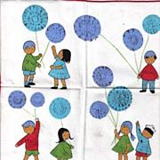 Vintage Children's Handkerchief