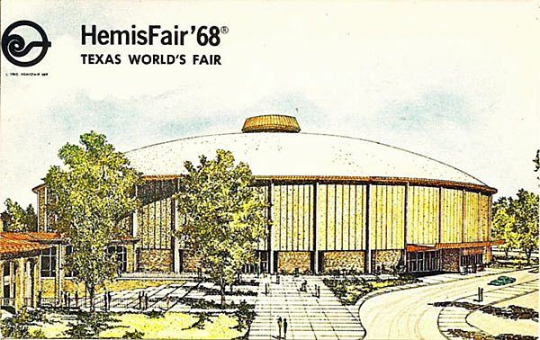 HemisFair '68, Texas World's Fair Postcard