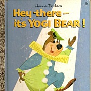 SOLD Hey there--it's Yogi Bear! Little Golden Book First Edition