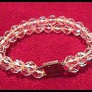 Two Strand Crystal Bracelet