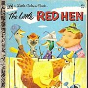 SOLD The Little Red Hen - Little Golden Book
