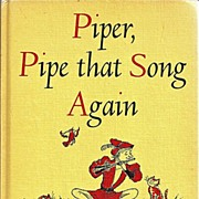 Piper, Pipe that Song Again Book of Poems Selected by Nancy Larrick