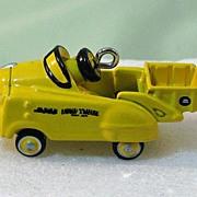 SALE PENDING Hallmark Miniature Kiddie Car Classics Ornament - Murray Dump Truck