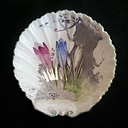 Pin Dish Decorated with Crocus Shelley England