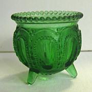 Degenhart Emerald Green Gypsy Pot Toothpick Holder