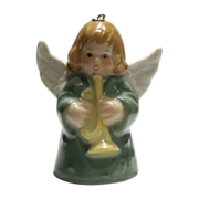 Goebel Angel Bell Ornament Dated 1985
