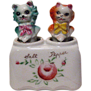 Cat Nodder Salt and Pepper Shakers