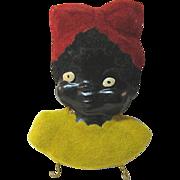 Black Americana Mammy Potholder Plaque