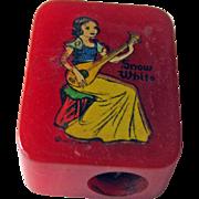 Snow White Bakelite Pencil Sharpener / Disney Pencil Sharpener / Vintage Sharpener / ...