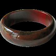 Bakelite Bangle Bracelet End of Day Estate Bracelet