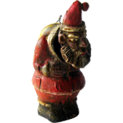 SALE PENDING Santa Nodder / Clay Santa / Grouchy Santa / Vintage Santa / Santa Ornament / Coll