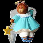 Hallmark Ornament Angel Kitty  / Artists Favorite Hallmark Ornament