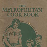 The Metropolitan Cook Book Booklet Advertising