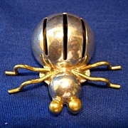 Taxco Mexico Sterling Spider Pin