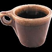 Hull Brown Drip Mugs