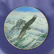 1988 Hamilton Collection The Eagle Soars Plate
