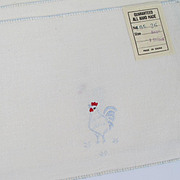 Rooster Napkin / Scarf Set