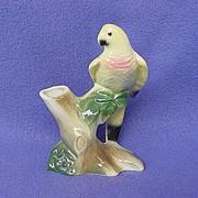 Royal Copley Parrot Bud Vase