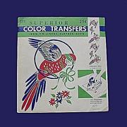 Vintage Color Transfers - Parrot Style!