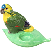 Lynn Chase Amazon Parrot Candleholder