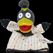 WHBF-TV Grandpa Happy's Clarence Bird Hand Puppet