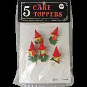 Vintage Duck Cake Toppers in Original Package
