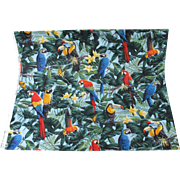 SALE PENDING Tropical Fabric Macaw Parrot Toucan Conure Two Yards