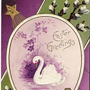 """Easter Greetings - Swan"