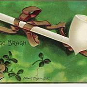 """Erin Go Bragh"" - Signed Clapsaddle - Postcard"