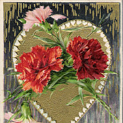 """""""Be My Valentine"""" - Copyrighted 1910"""