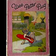 SOLD Wee Peter Pug Storybook Vintage