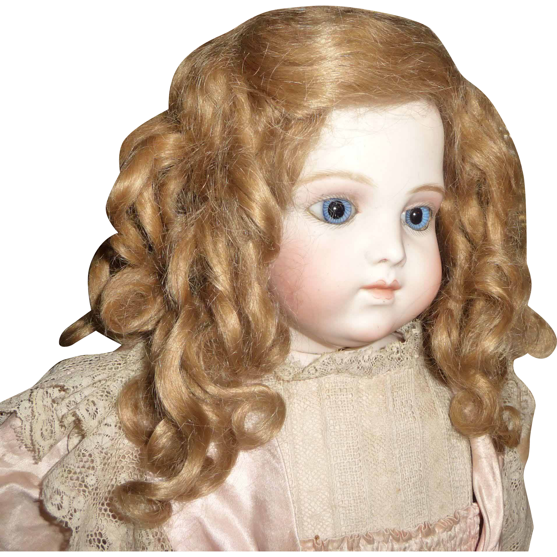 Bjd Wig Curly Mohair 100