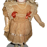 Charming antique factory made doll dress