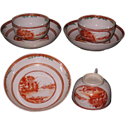 Chinese export porcelain to American market circa 1780.